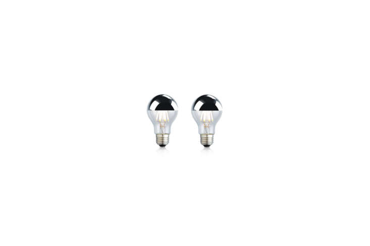 silver tipped lightbulbs look more expensive than they are and add a touch of g 9