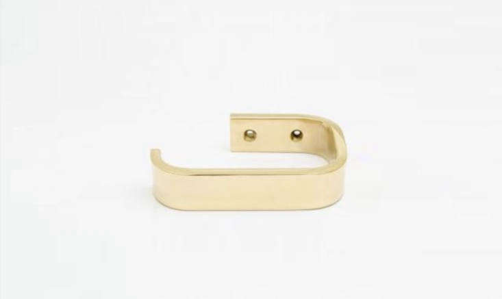 baccman berglund curve brass toilet holder