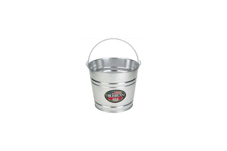 sturdy, good looking metal pails in all shapes and sizes can be used to tote cl 22