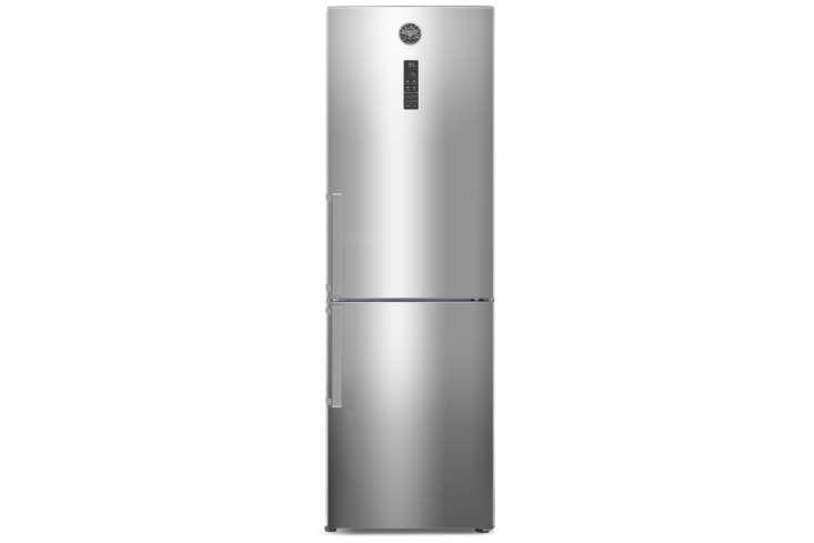 The Bertazzoni Professional Series -Inch Counter Depth Bottom Freezer Refrigerator (REFBMX) is  / inches deep; $loading=