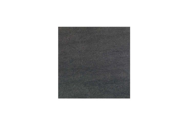 The kitchen counters, fitted by Plain English, are Black Basalt. For something similar, source black basalt through Stone Source or a local yard.