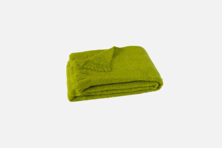 The Ciao Bella Shop stocks a wide range of colorful mohair throw blankets, like this Brushed Mohair Throw in &#8