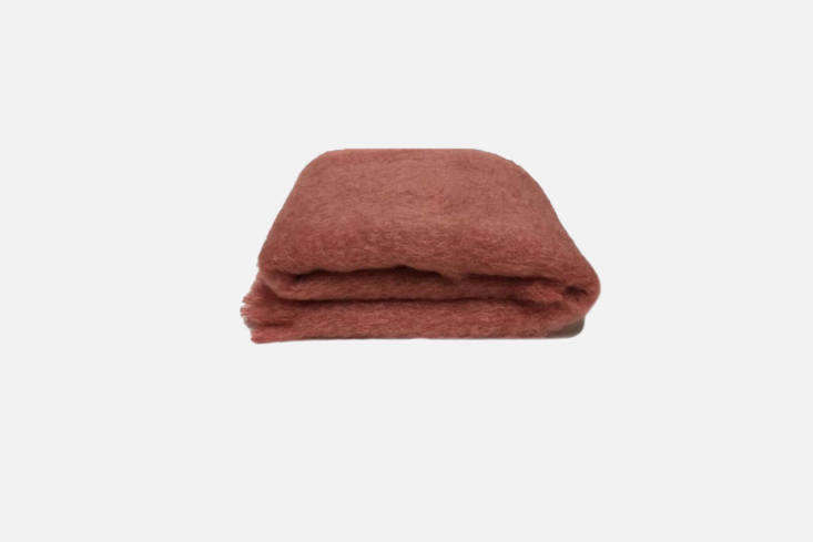 Woven in New Zealand, the Crainfields Mohair Throw, shown in Tea Rose, is $9 to $9 NZD at Crainfields.