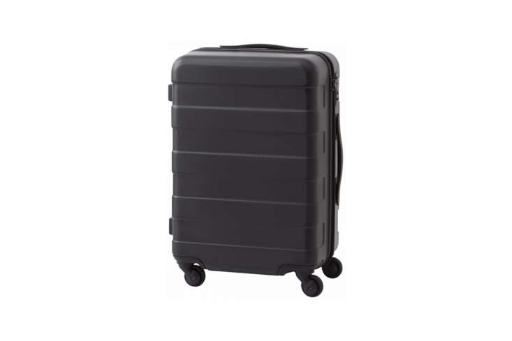 Alexa is a fan of the well-priced Valise Hard Carry Travel Suitcase 33L from Muji; $loading=