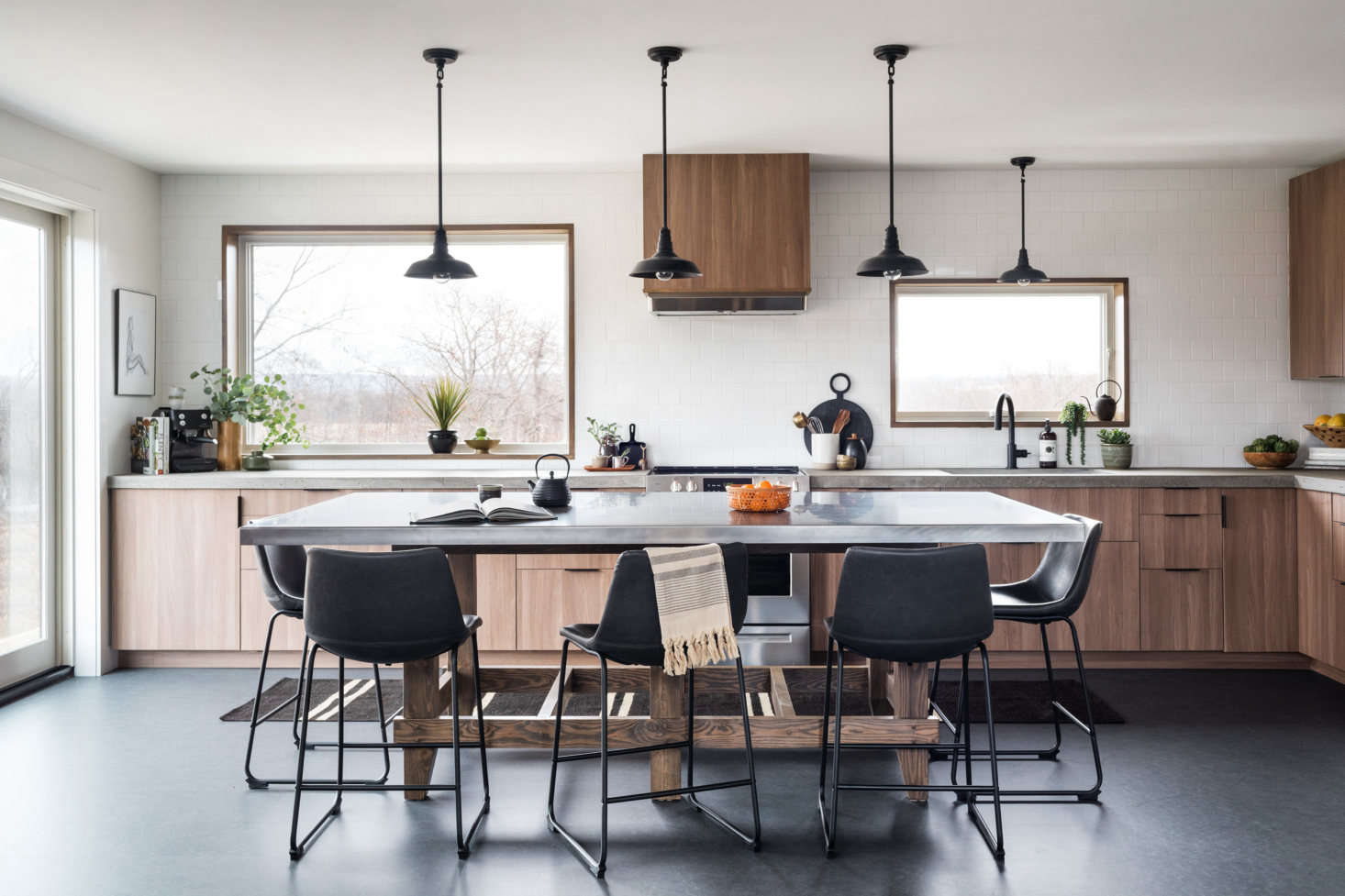 Kitchen Of The Week An Eco Friendly Elevated Ikea Kitchen In A Family S Forever Home Remodelista