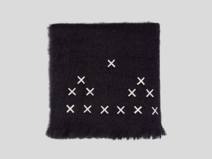 The simply-patterned Hocken throw is available in custom color combinations, but we&#8