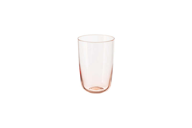 ikea&#8\2\17;s intagande glass, in light pink, is available in two sizes; t 15