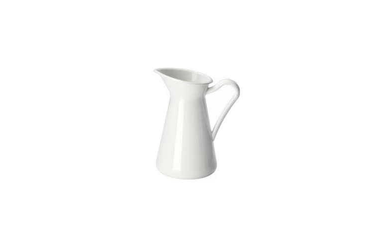 a remodelista favorite, ikea&#8\2\17;s enameled sockerart white vase is jus 22