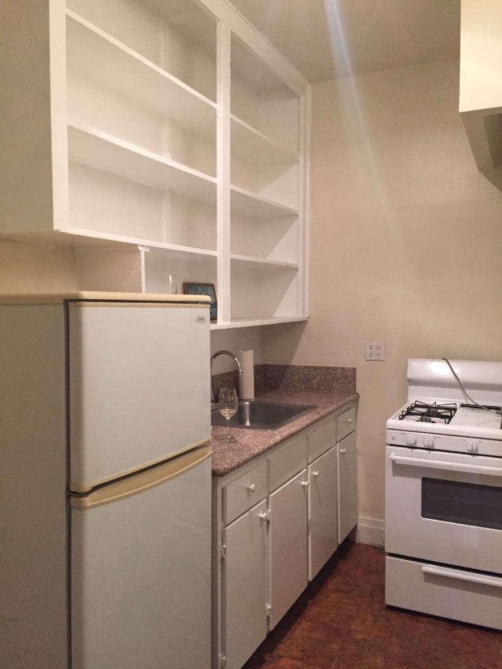 A peek at the original kitchen.