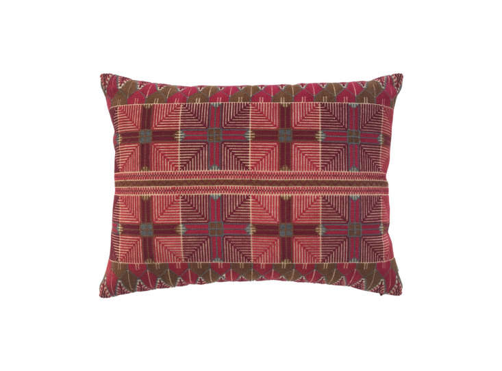 the ensaf pillow features a design inspired by a traditional pattern embroidere 12
