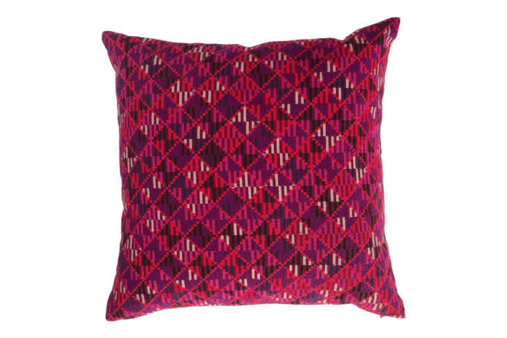 each pillow is filled with down feathers; the holy mount pillow is \$380. 9