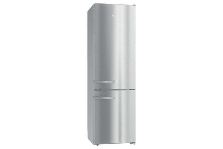 The Miele -Inch Counter-Depth Bottom Freezer Refrigerator (KFN9DE) is a total of  / inches deep; $