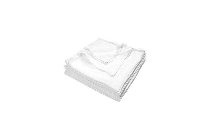 scour the hardware store for simple cotton kitchen towels like thesecotton fl 17