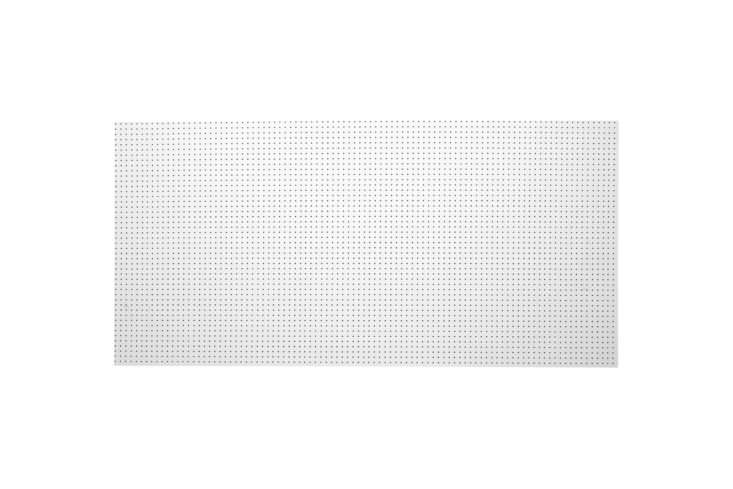 pegboard can be used as good looking wall storage all over the house, from the  34
