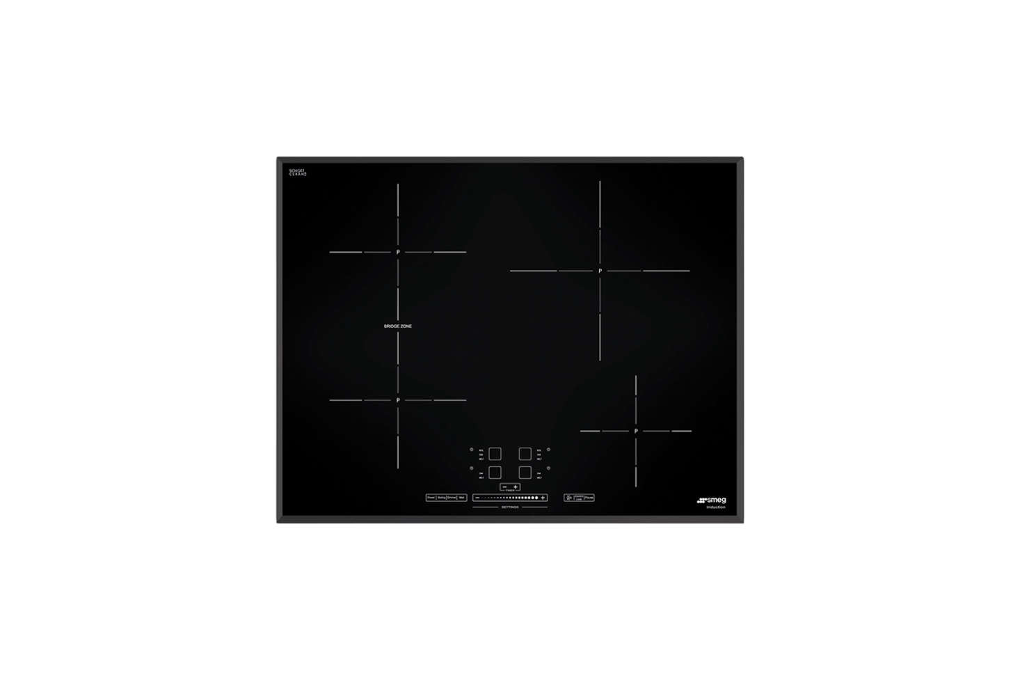 The electric cooktop is a Smeg design available in the EU. For a US equivalent, the3data-src=