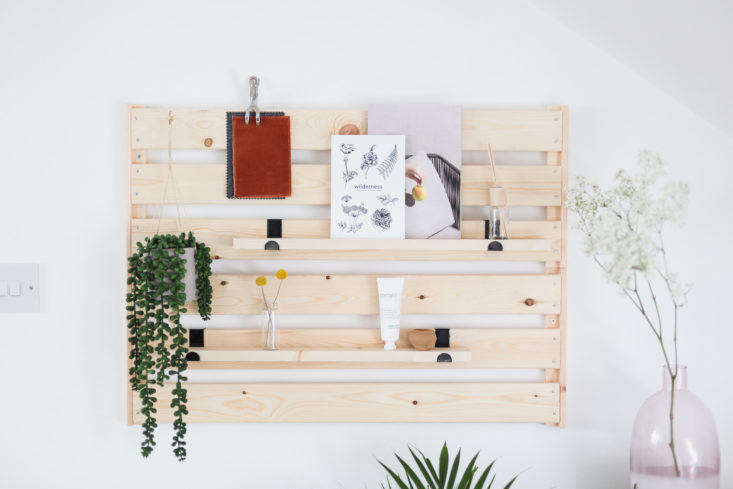 And, we love this clever use of Ikea pieces to create an inexpensive yet stylish wall organizer. Learn how to do this project inDIY Ikea Hack: A Genius, No-Skills-Required Storage Project. Photograph by Francesca Stone, courtesy of Hunker.