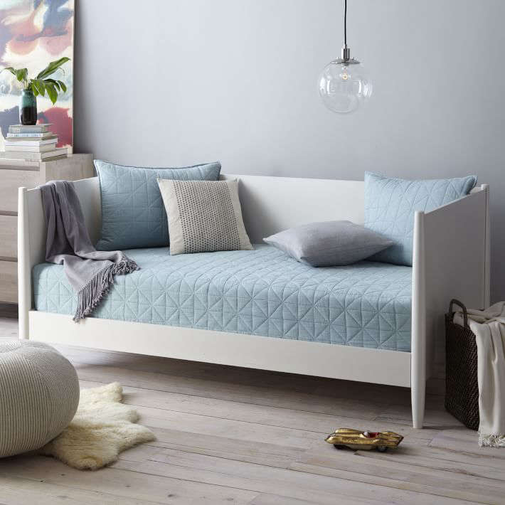 The West Elm Midcentury Daybed in white is currently on sale for $799.