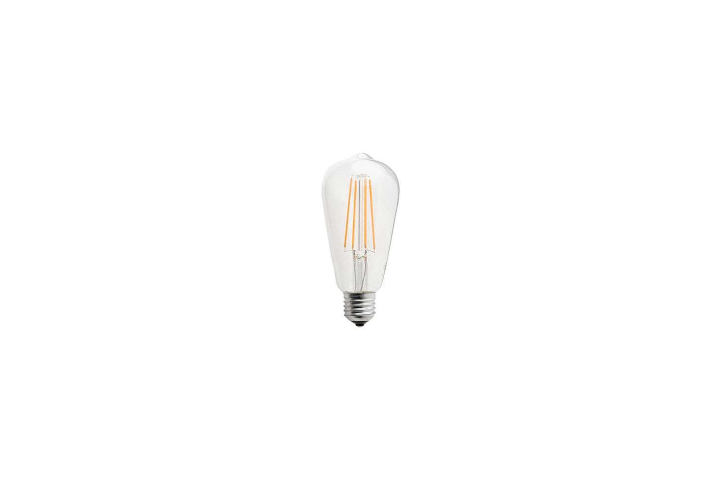 The Zangra LED Light Bulb Filament Edison 4W casts an extra warm light; €.95 at Zangra.