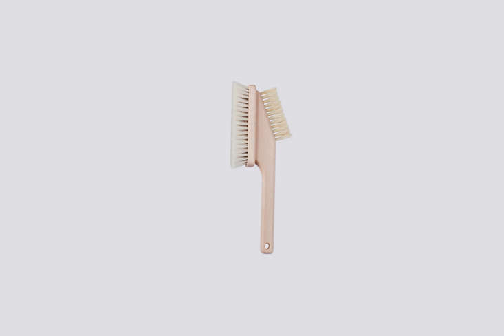 The beech wood Computer Brush features a soft brush on one side and a coarser one on the other; $.75.