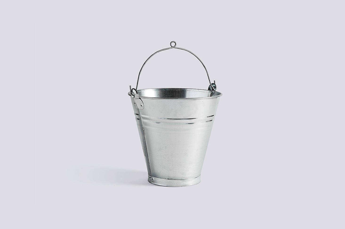 The Turkish Handmade Bucket made of galvanized iron is $.