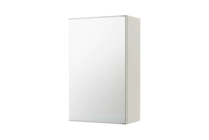 The Ikea Lillången Mirror Cabinet is one of our budget picks for $49.99.