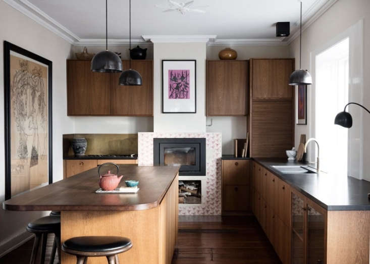 The 3-square-foot kitchen belongs to Rebecca and Peter Elbek—she&#8