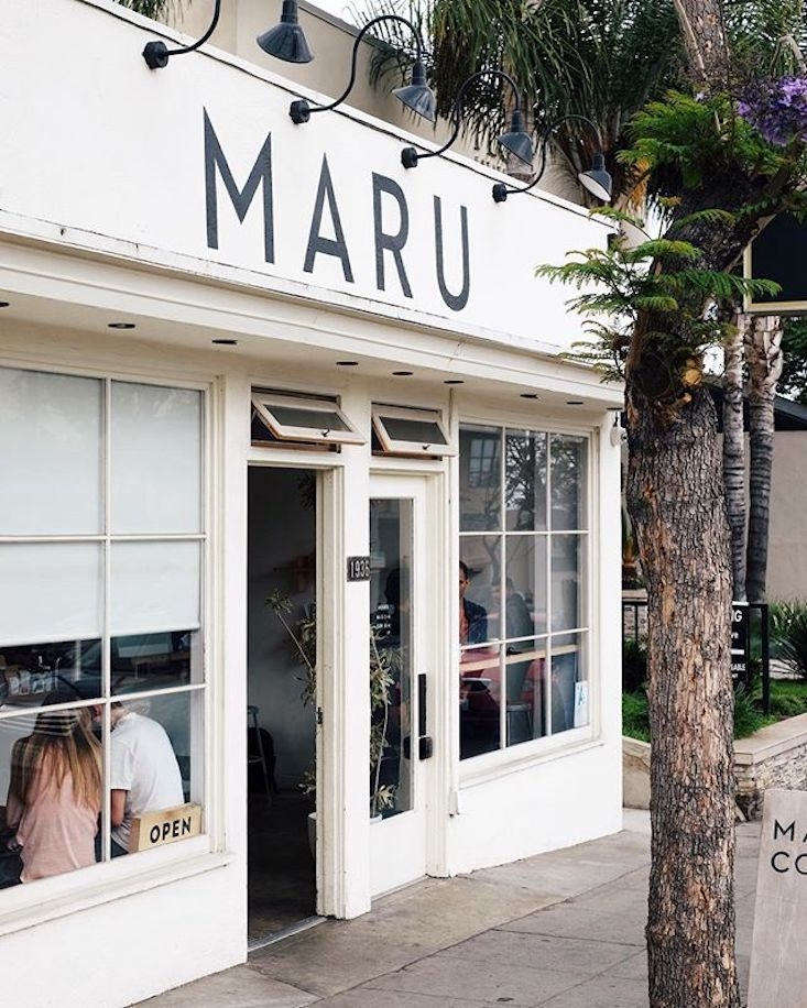 simple signage at maru&#8\2\17;s diminutive store in los feliz. 9