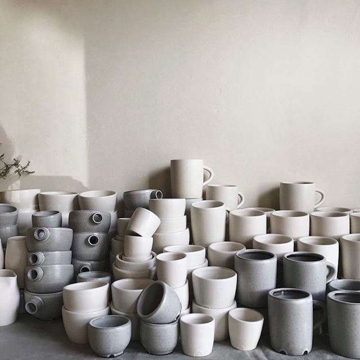 kim and park asked notary ceramics to make custom vessels for maru. (seeportl 13