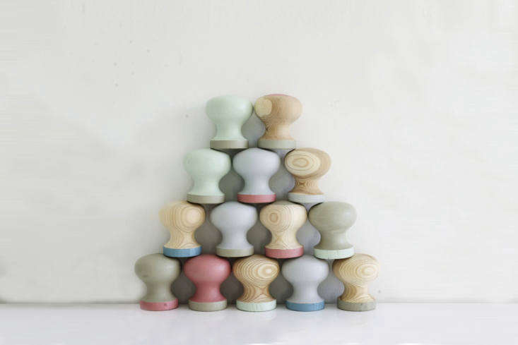 the inspiration: hand painted knobs by finnish designer and stylist riikka kant 9
