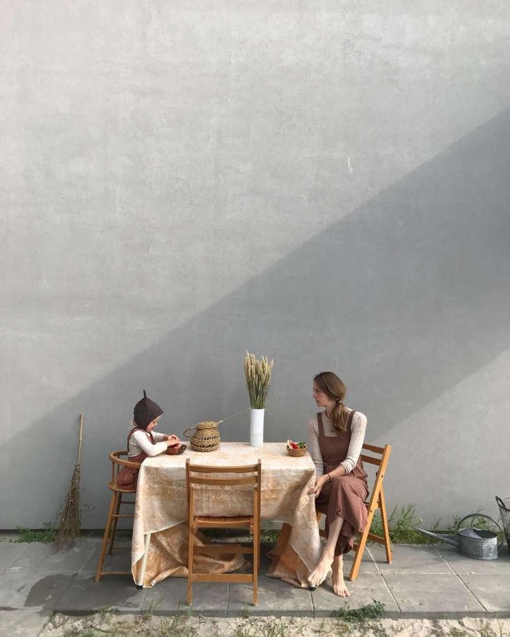 Watermelon on the back terrace. Photograph byWim de Boer.