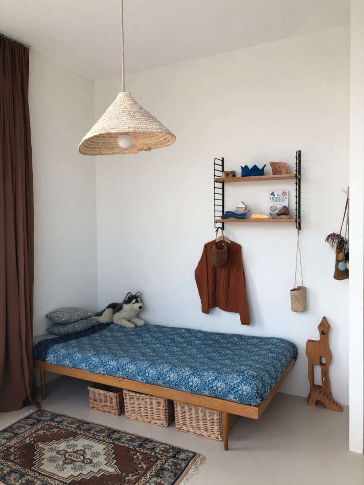 For the first time, each of the kids has his or her own room. Sanne bought Ole&#8
