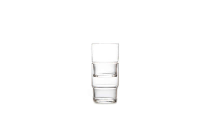 a remodelista favorite, the toyo sasaki hs stackable glass tumbler is dishwashe 9