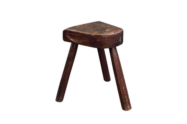A Vintage Wooden Milking Stool can be sourced on loading=