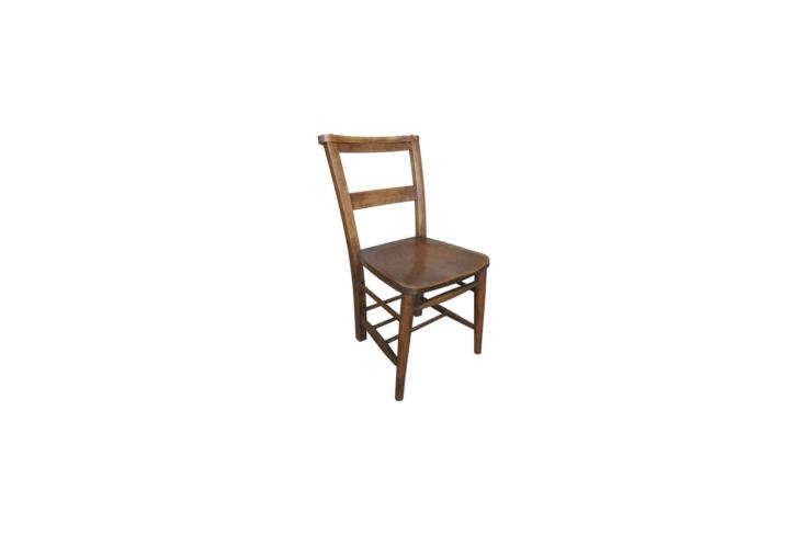 antique church chair