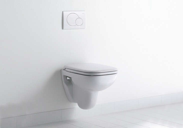 featuring rectangular forms with rounded edges, theduravit d code wall mounte 17