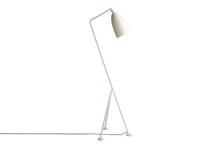 The Grasshopper Floor Lamp by Swedish architect Greta Grossman for Gubi comes in nine colors; $loading=