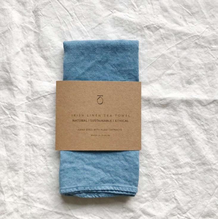 kathryn davey natural dye irish tea towel dublin 11