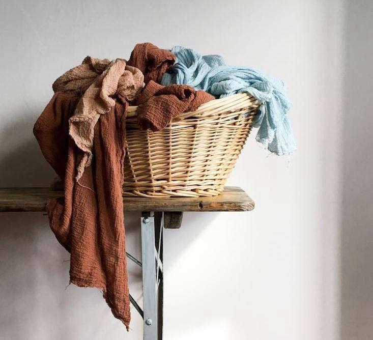 organic cotton scarves in davey&#8\2\17;s studio at harold&#8\2\17;s cr 10