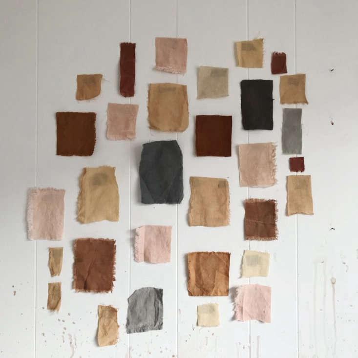 sample dye colors. 11