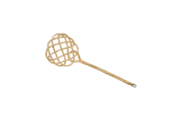Another winner from Redecker, the Rattan Reed Carpet Beater is the only beautiful way to get dust out of carpets. It&#8
