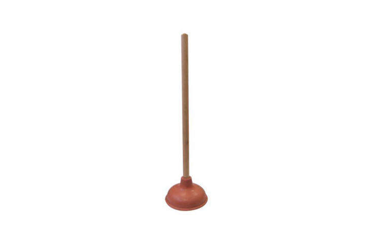 A classic rubber plunger—nothing fancy—from Supply Guru, the Rubber Toilet Plunger has an -inch wood handle and is $7.98 on Amazon Prime.