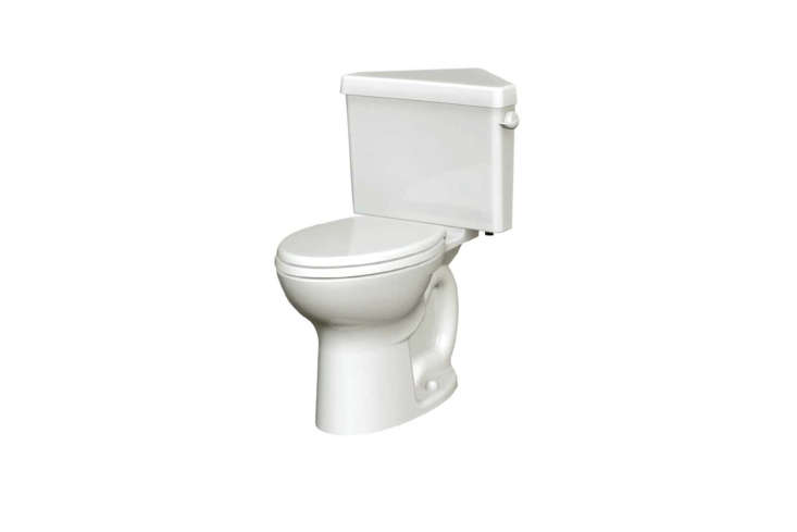 The go-to corner model in the US is the American Standard Cadet Pro Toilet. It&#8