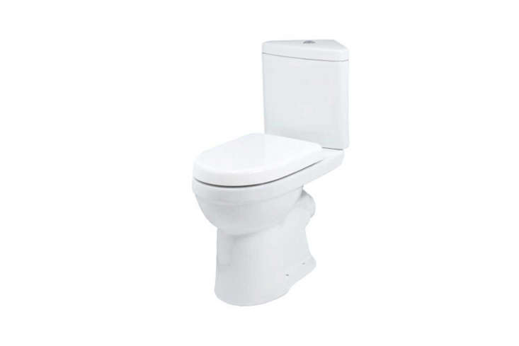 The Denver Corner Toilet Including Seat is £3. at Bath Store in the UK.