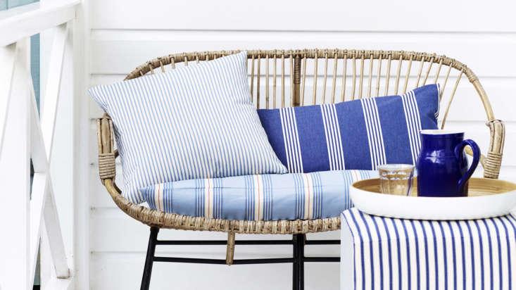 ian mankin striped chair fabric