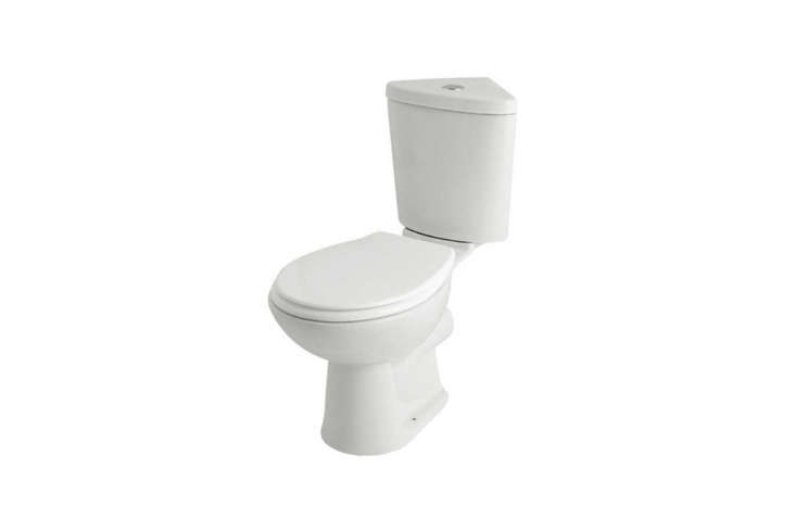The Kartell G4K Corner Toilet Cistern with Soft Close Seat in White is £9loading=