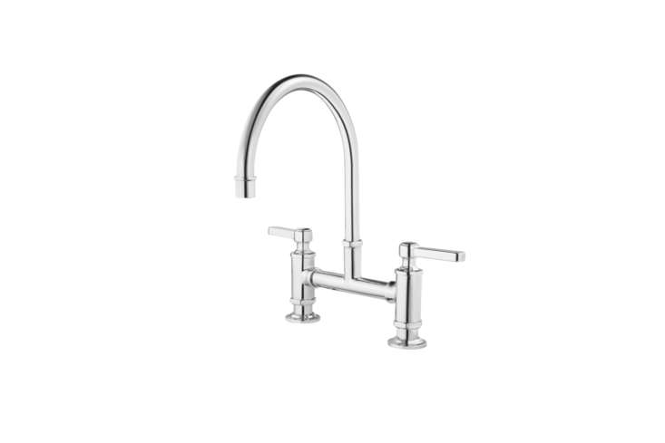 10 Easy Pieces Modern Bridge Faucets The Pfister Port Haven Gooseneck Kitchen Faucet (GT3\1 TDC) comes in four finishes; \$\28466 at Pfister.