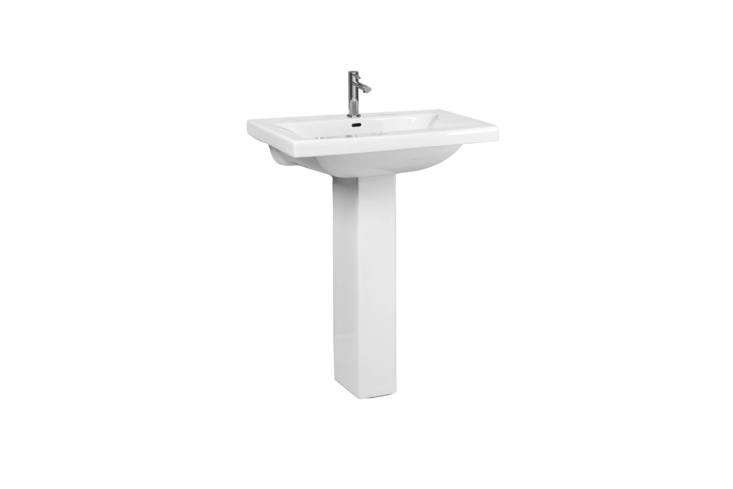 The Barclay Mistral 5 Pedestal Lavatory Sink (3-loading=