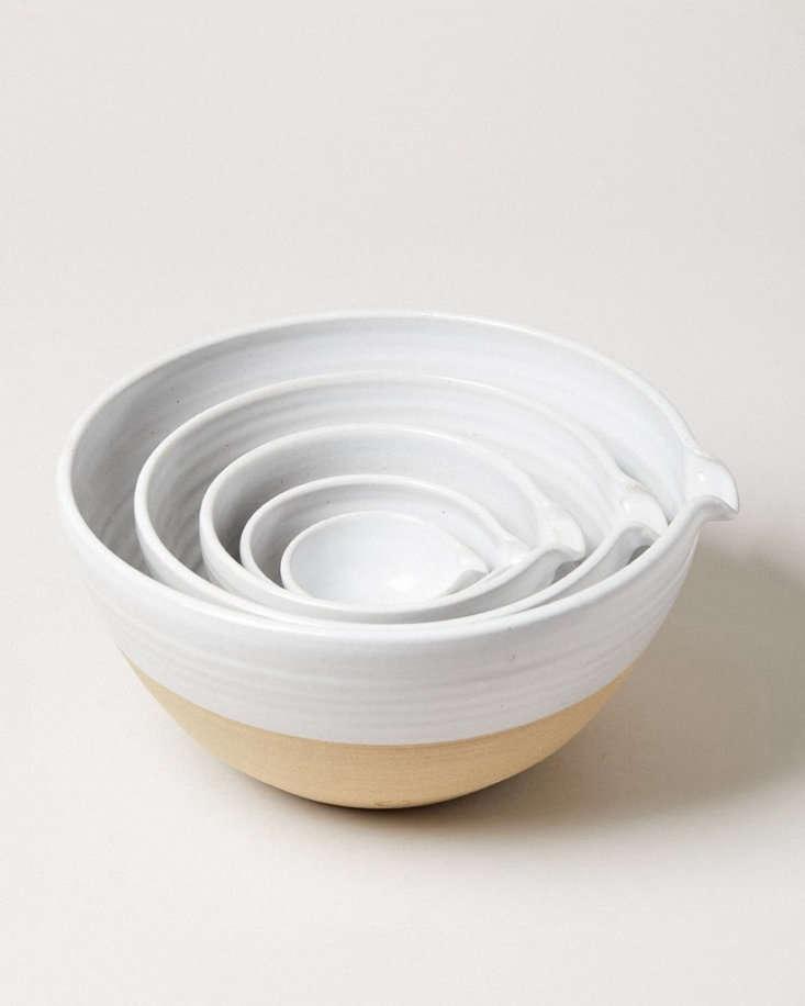 the handy spout makes farmhouse pottery&#8\2\17;s pantry bowl exceedingly p 16