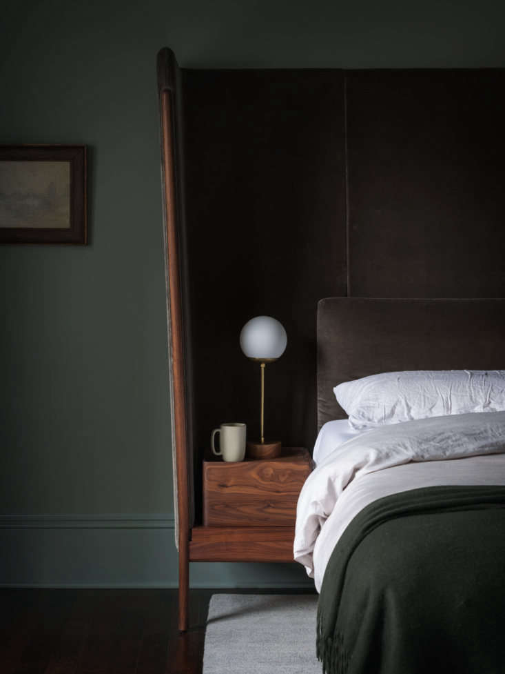 Neri & Hu also designed the bed with built-in nightstands. &#8