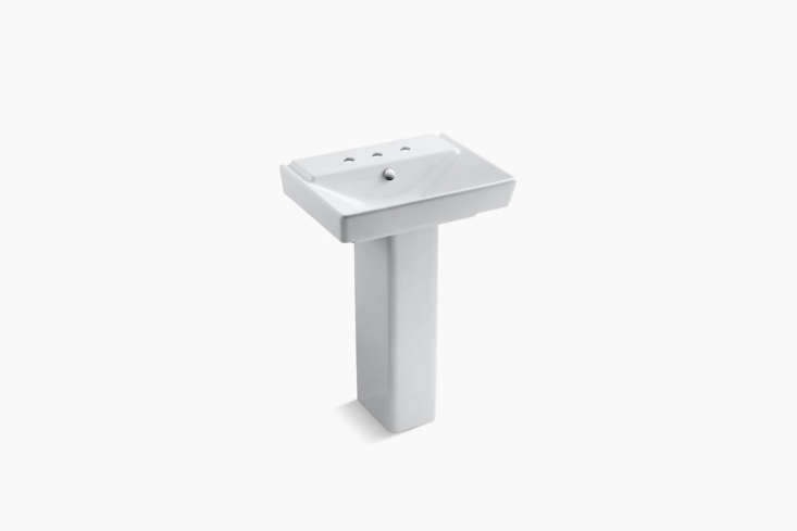 The Kohler Rêve -Inch Pedestal Bathroom Sink (K-5